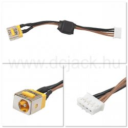 Laptop tápcsatlakozó kábel - PJC0100