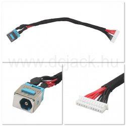 Laptop tápcsatlakozó kábel - PJC0101