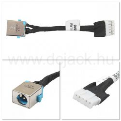 Laptop tápcsatlakozó kábel - PJC0102