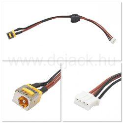Laptop tápcsatlakozó kábel - PJC0103