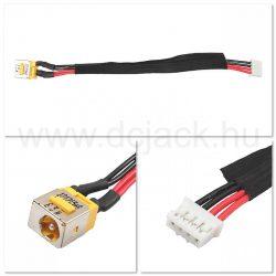 Laptop tápcsatlakozó kábel - PJC0105