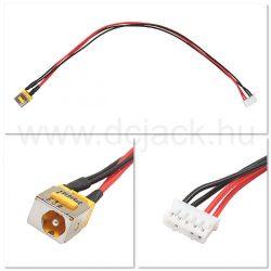 Laptop tápcsatlakozó kábel - PJC0106