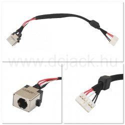 Laptop tápcsatlakozó kábel - PJC0107