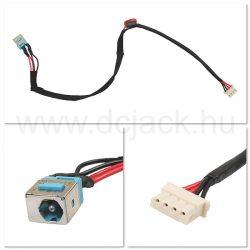 Laptop tápcsatlakozó kábel - PJC0108