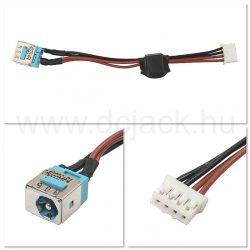 Laptop tápcsatlakozó kábel - PJC0109
