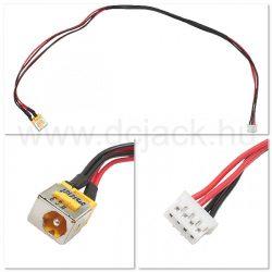 Laptop tápcsatlakozó kábel - PJC0111