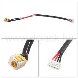 Laptop tápcsatlakozó kábel - PJC0112