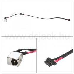 Laptop tápcsatlakozó kábel - PJC0113