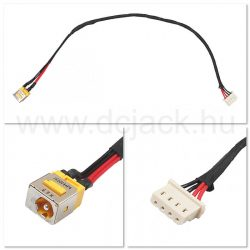 Laptop tápcsatlakozó kábel - PJC0116