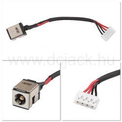 Laptop tápcsatlakozó kábel - PJC0117