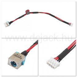Laptop tápcsatlakozó kábel - PJC0119