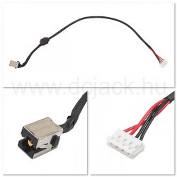 Laptop tápcsatlakozó kábel - PJC0120