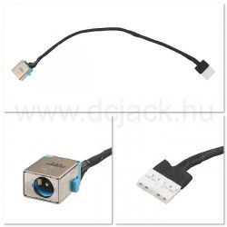 Laptop tápcsatlakozó kábel - PJC0124