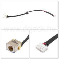 Laptop tápcsatlakozó kábel - PJC0125