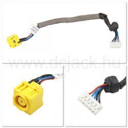 Laptop tápcsatlakozó kábel - PJC0126