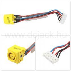 Laptop tápcsatlakozó kábel - PJC0127