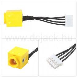 Laptop tápcsatlakozó kábel - PJC0128