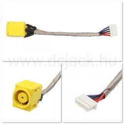Laptop tápcsatlakozó kábel - PJC0129