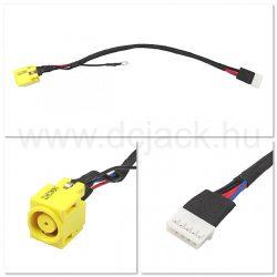 Laptop tápcsatlakozó kábel - PJC0130