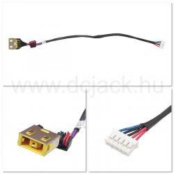 Laptop tápcsatlakozó kábel - PJC0131