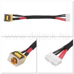 Laptop tápcsatlakozó kábel - PJC0132