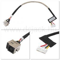 Laptop tápcsatlakozó kábel - PJC0136