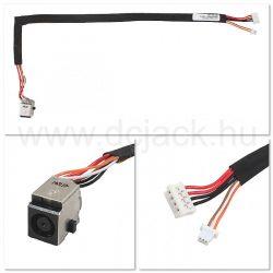 Laptop tápcsatlakozó kábel - PJC0138