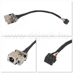 Laptop tápcsatlakozó kábel - PJC0140
