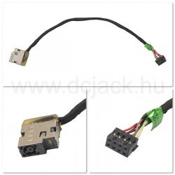 Laptop tápcsatlakozó kábel - PJC0141