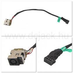 Laptop tápcsatlakozó kábel - PJC0144