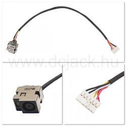 Laptop tápcsatlakozó kábel - PJC0147