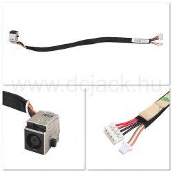 Laptop tápcsatlakozó kábel - PJC0150
