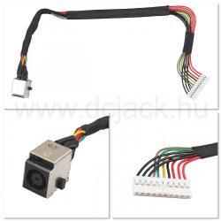 Laptop tápcsatlakozó kábel - PJC0152