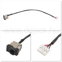 Laptop tápcsatlakozó kábel - PJC0160