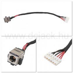Laptop tápcsatlakozó kábel - PJC0167