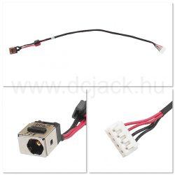 Laptop tápcsatlakozó kábel - PJC0168
