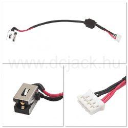 Laptop tápcsatlakozó kábel - PJC0170
