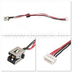 Laptop tápcsatlakozó kábel - PJC0174