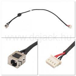 Laptop tápcsatlakozó kábel - PJC0175