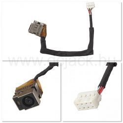Laptop tápcsatlakozó kábel - PJC0176