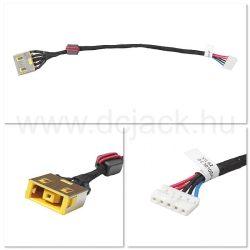 Laptop tápcsatlakozó kábel - PJC0178