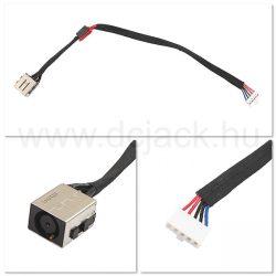 Laptop tápcsatlakozó kábel - PJC0194
