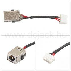 Laptop tápcsatlakozó kábel - PJC0195