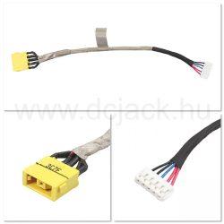 Laptop tápcsatlakozó kábel - PJC0200