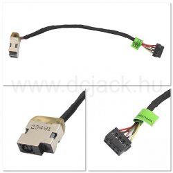 Laptop tápcsatlakozó kábel - PJC0201