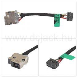 Laptop tápcsatlakozó kábel - PJC0205