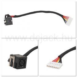 Laptop tápcsatlakozó kábel - PJC0206