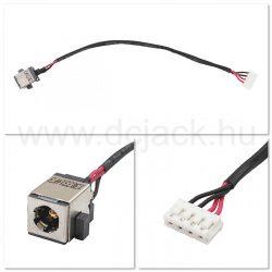 Laptop tápcsatlakozó kábel - PJC0211
