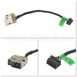 Laptop tápcsatlakozó kábel - PJC0213