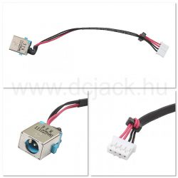 Laptop tápcsatlakozó kábel - PJC0215